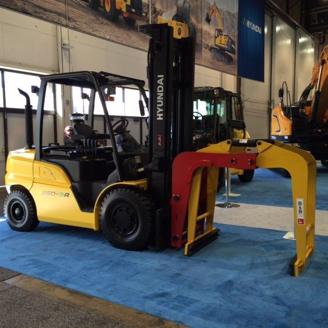 B&B Attachments Exhibits at Modex, 4-7 April 2016, Atlanta