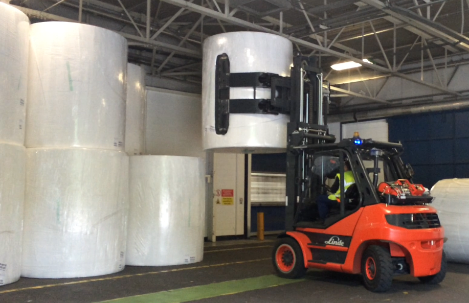 New Forklift Truck Attachments at SCA Improves Productivity