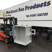 B&B Attachments find a Solution for West Coast Sea Products Bespoke Material Handling.