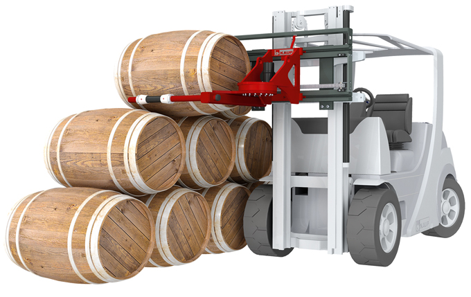 The KAUP Cask Handler 0.3T415W provides innovations within the logistics industry